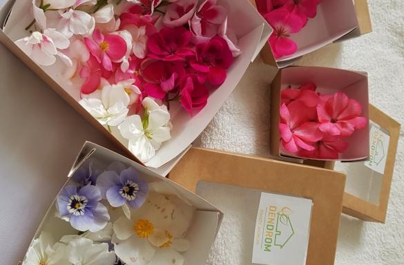Specjalne zestawy kwiatów jadalnych!